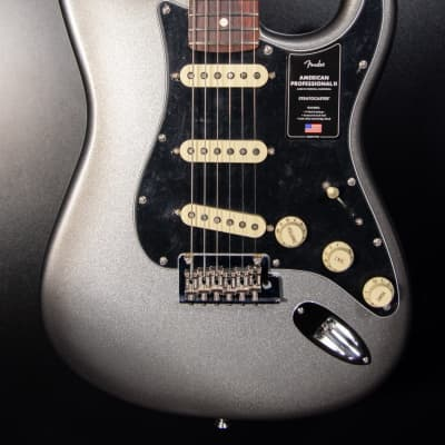 Fender American Professional II Stratocaster HSS - Mercury with Rosewood Fingerboard for sale