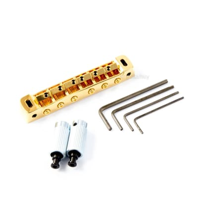 Gotoh 510FB Tunematic w/ Studs - Tune-o-matic bridge - GOLD