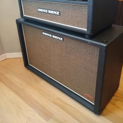 Genz Benz El Diablo 60/30 TS &  TS212- Matched Tribal Edition Amp+Cab for sale