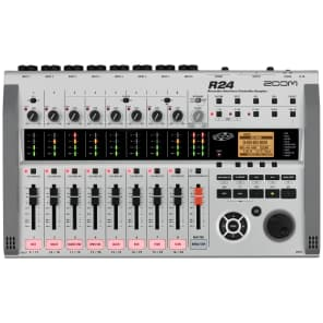 Zoom R24 USB Audio Interface / Digital Multitrack Recorder / Control Surface
