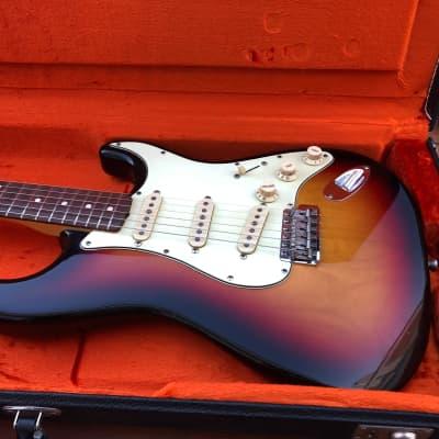 Fender 1960´ Custom Shop Fender Stratocaster 1999. 1999 Sunburst for sale