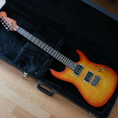 Fender Showmaster Flamed Maple HH 2000s for sale