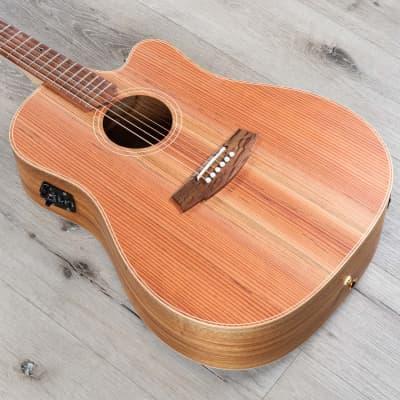 Cole Clark CCFL2EC-RDBL Electric Acoustic Guitar, Redwood Top, Blackwood Body for sale