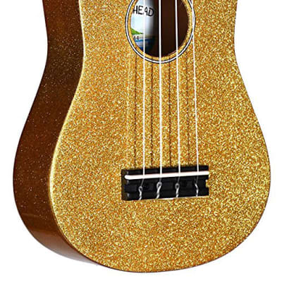 Diamond Head Satin Series Soprano Ukulele - Champagne Gold for sale
