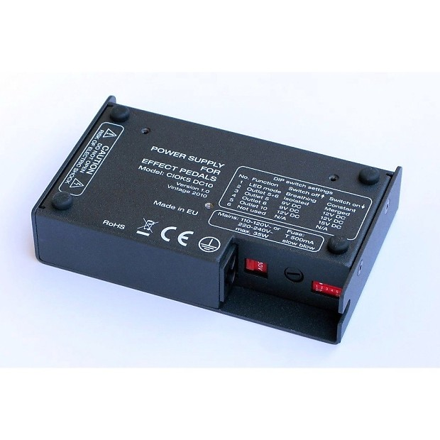 cioks dc10 effects pedals power supply 10 outlets 8 isolated reverb. Black Bedroom Furniture Sets. Home Design Ideas