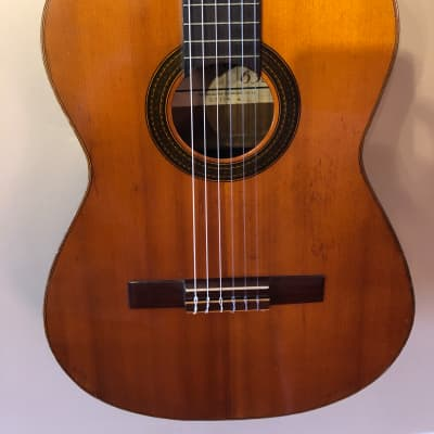 Zen-on Abe Gut 63S  1970's Cedar Top Classical Guitar for sale
