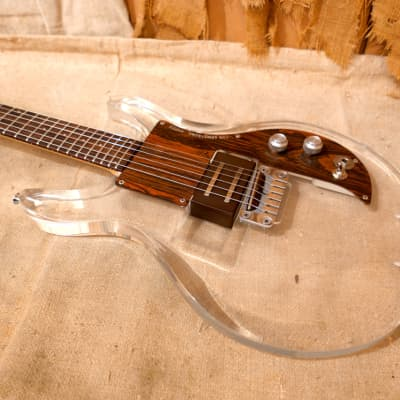 Ampeg Dan Armstrong Lucite Guitar 1970 Clear for sale