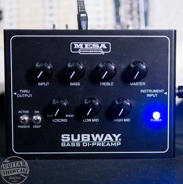 Mesa Boogie Subway Bass DI/Preamp | Guitar Showcase | Reverb