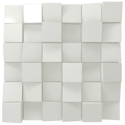 Vicoustic Multifuser Wood 36 MKII | Two-dimensional Diffuser | Box of 1 (White Matte)