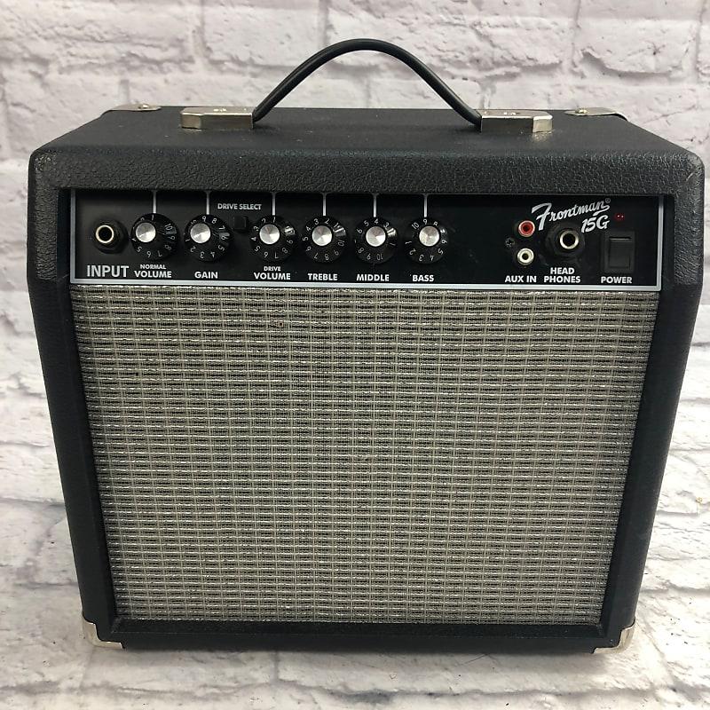fender frontman 15g guitar combo amp evolution music reverb. Black Bedroom Furniture Sets. Home Design Ideas
