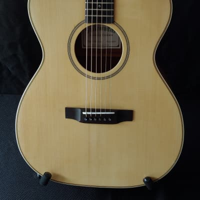 2020 Stillwater OM Solid Mahogany and Spruce Hand Made Acoustic Guitar