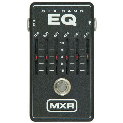 MXR M109 6-Band Graphic EQ