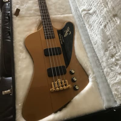 Gibson Thunderbird IV 50th anniversary gold 2013 Gold for sale