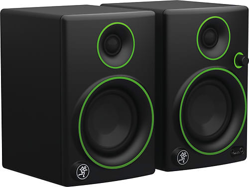 "Mackie CR3 3"" Creative Reference Multimedia Monitors (Pair) w/ Isolation Pads & Cables"