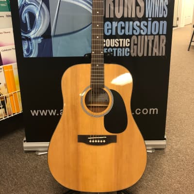 Denver DD44S Guitar w/Bag Natural for sale