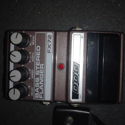 DOD Bass Stereo Flanger FX72 Vintage Made In USA