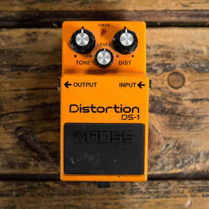 Boss DS-1 Distortion (Silver Label) 1994 - 2019