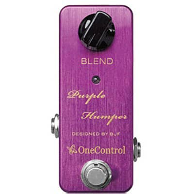 One Control BJF Series Purple Humper Mid Boost for sale