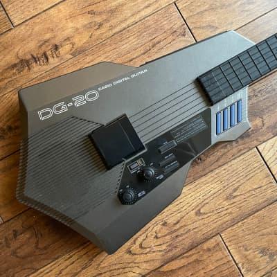 Casio DG-20 Digital Guitar Synth Gray for sale