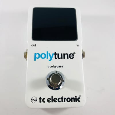 TC Electronic Polytune 2 Polyphonic Tuner Pedal  *Sustainably Shipped*