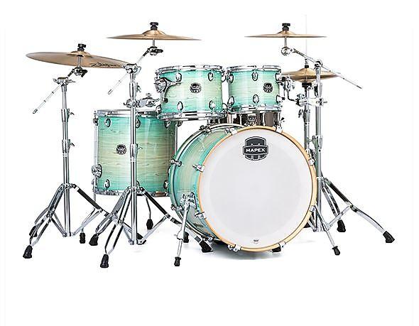 Mapex Armory Drum Set Rock Shell Pack 22 Ultramarine Reverb