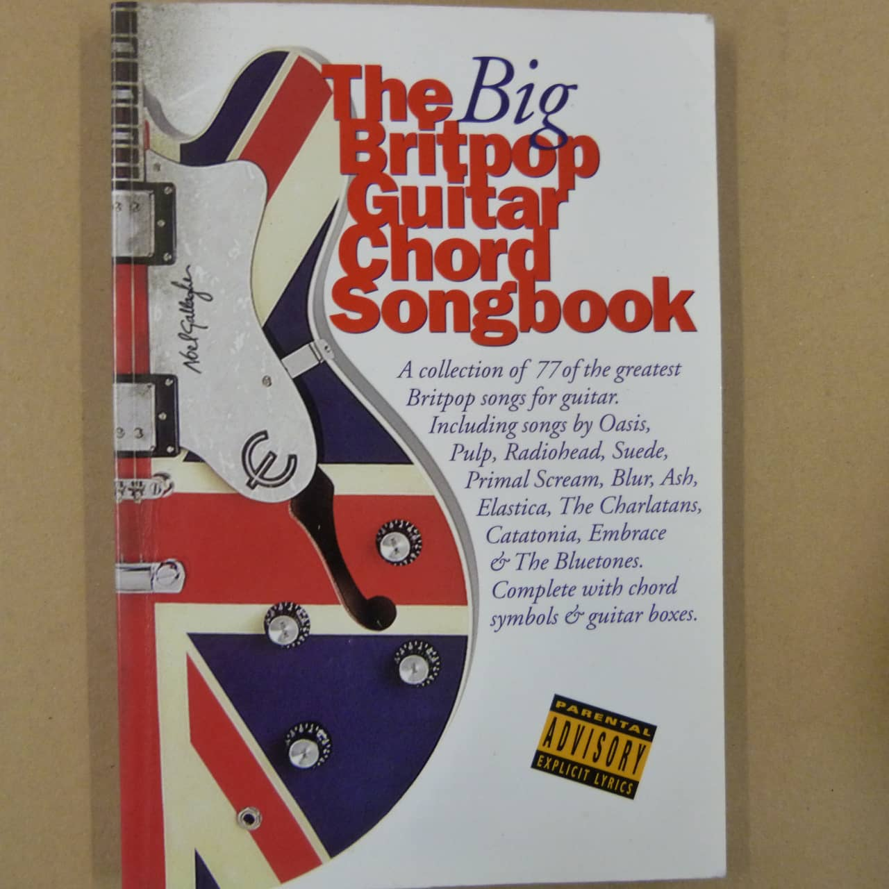 The Big Britpop Guitar Chord Songbook Reverb