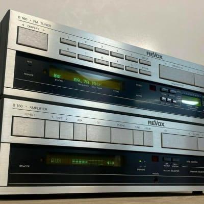 Revox B150 Amplifier & Revox B160 Stereo Tuner System. Near Mint - Serviced