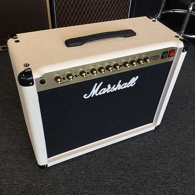 marshall dsl40c dsl40cc 1x12 40 watt cream tolex guitar combo reverb. Black Bedroom Furniture Sets. Home Design Ideas