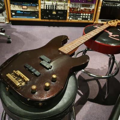 RARE Vintage 1983 Early Charvel USA San Dimas American Custom Shop Precision Jazz PJ Bass Pre-Fender for sale