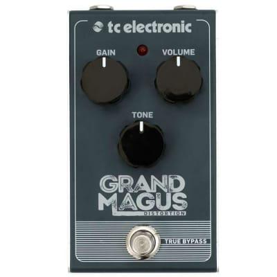 Tc Electronic Grand Magus Distortion Effetto Distorsione A Pedale Per Chitarra for sale