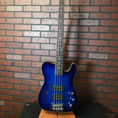 G&L USA ASAT Bass Semi Hollow Blue Burst for sale