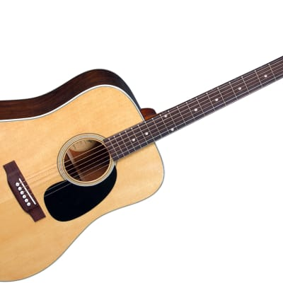Blueridge BR-60 Contemporary Solid Sitka Top Dreadnought Guitar W/Santos Rosewood Back & Sides. for sale