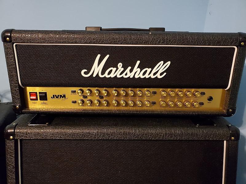 marshall jvm410h 100 watt 4 channel guitar amp head reverb. Black Bedroom Furniture Sets. Home Design Ideas