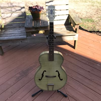 Harmony Archtone H1215 H1214 Ivory Vintage Acoustic Guitar 1950s 1960s for sale