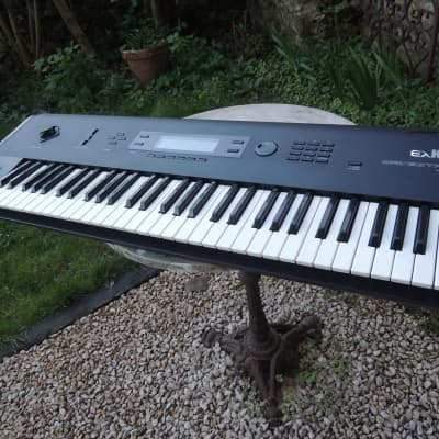 Korg Wavestation EX 1990 entièrement rénové 2000 sounds +Factory CD ROM  stage