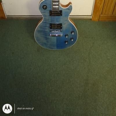 Gibson Les Paul signature player plus 2018 Satin ocean blue