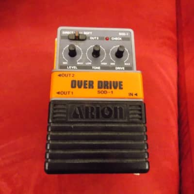 Arion SOD-1 Stereo Overdrive