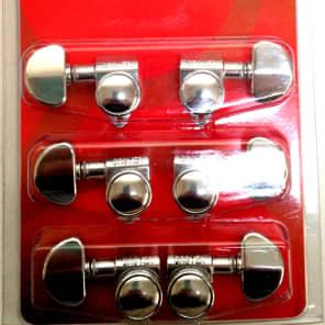 Grover 502C Roto-Grip Locking 3+3 Tuning Machines