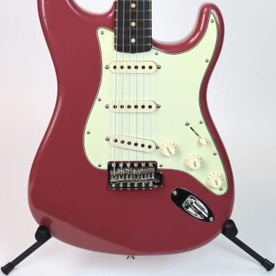 Fender Custom Shop '63 Strat Journeyman Faded Aged Cimarron Red for sale