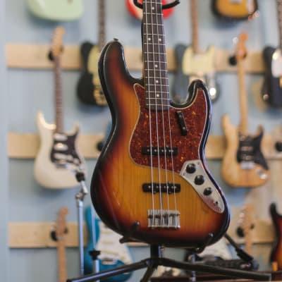 John Page era Fender Jazz Bass 62 Custom shop 1992 Sunburst for sale