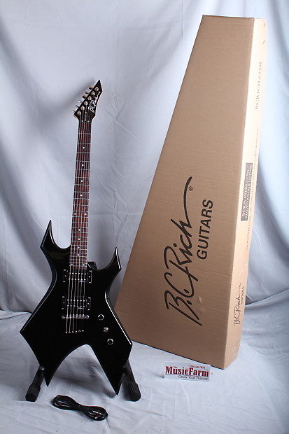 bc rich bronze series warlock one electric guitar gloss onyx reverb. Black Bedroom Furniture Sets. Home Design Ideas
