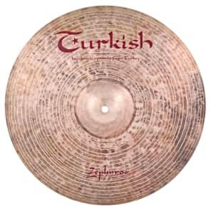 "Turkish Cymbals 18"" Jazz Series Zephyros Crash Z-C18"