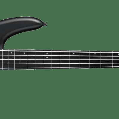 Ibanez GWB3BKF Gary Willis 5-String Fretless Electric Basses Black Flat for sale