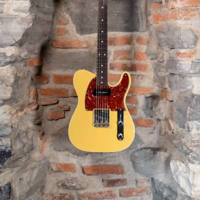 Fender Custom Shop Telecaster Custom Order 60s TV Yellow Matched P90 Used Perfect Condition 2015 for sale