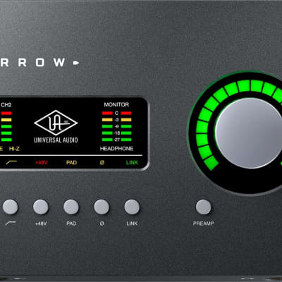 Universal Audio Arrow 2x4 Thunderbolt 3 Interface with Solo DSP Processor
