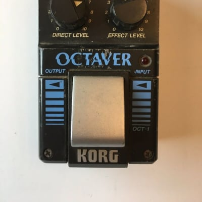 Korg OCT-1 Octaver Analog Octave Rare Vintage Guitar Bass Effect Pedal MIJ Japan for sale