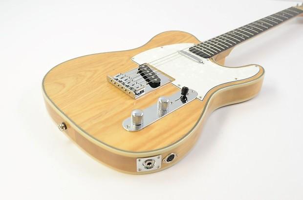 optek fretlight fg 531 telecaster electric guitar natural reverb. Black Bedroom Furniture Sets. Home Design Ideas