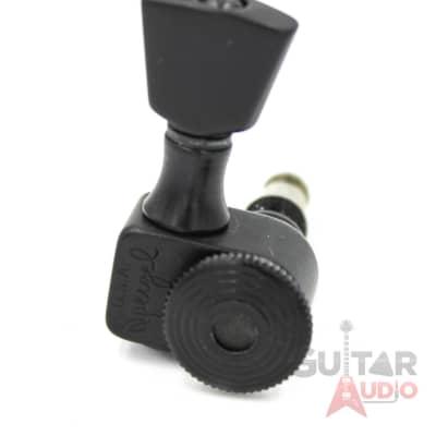 Sperzel 6-In-Line MINI KEYSTONE BUTTON Trimlok Locking Guitar Tuners - BLACK for sale