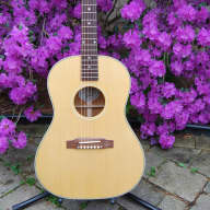 <p>Gibson lg 2 american eagle 2013 natural with pickup</p>  for sale
