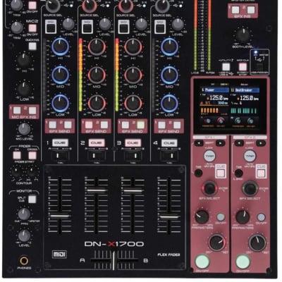 Denon DN-X1700 Professional 4 Channel DJ Mixer with USB